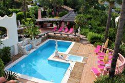 RRE Marbella Villa Pool BBQ Area